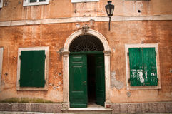 Traditional Adriatic house Stock Images