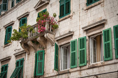 Traditional Adriatic house Stock Photos