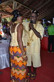 TRADITIONAL AFRICAN DRESS Royalty Free Stock Image