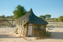 Traditional African Hut Royalty Free Stock Photos