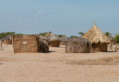 Traditional african huts Royalty Free Stock Image