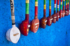 Traditional african instruments Royalty Free Stock Photo