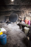 Traditional african kitchen Royalty Free Stock Photography