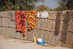 Traditional African Lifestyle Stock Image