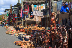 Traditional African market Royalty Free Stock Photography