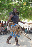 Traditional African medicine man Stock Images