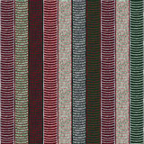 Traditional African Ornamental Pattern. Stylized Seamless texture with waves. Red Green and Black African Pattern for decoration or background Royalty Free Stock Images
