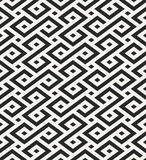 Traditional African ornamental texture, repeating background with geometrical shapes Stock Photography
