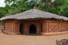 Traditional african village,South Africa Stock Photo