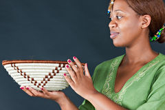 Traditional african woman Stock Photos