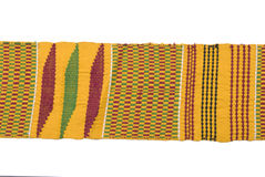 Traditional African woven belt. Stock Photo