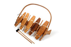 Traditional african xylophone Royalty Free Stock Images