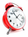 Traditional alarm clock Royalty Free Stock Image
