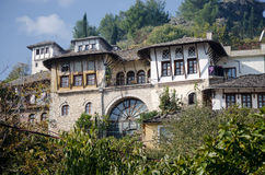 Traditional albanian house Stock Photography