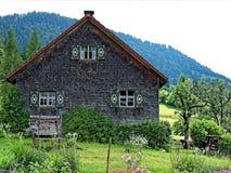 Traditional Allgau farmhouse Royalty Free Stock Photos