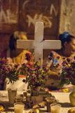 Altar of Day of the Dead royalty free stock photos