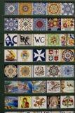 Traditional Amalfi hand painted ceramics Royalty Free Stock Photo