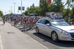 Traditional amateur cycling event Marathon Franja Stock Photography