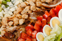 Traditional American Cobb Salad Stock Photography