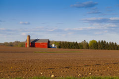 Traditional American Farm Royalty Free Stock Images