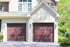 Traditional American Garage Royalty Free Stock Photos