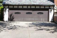Traditional American Garage Stock Photo