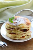 Traditional American pancakes Stock Photography