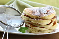 Traditional American pancakes Stock Image