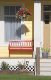 Traditional American Porch Royalty Free Stock Photography