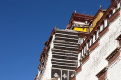 Traditional ancient building in Tibet Stock Photography
