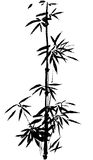The traditional ancient Chinese hand painted bamboo Royalty Free Stock Photos