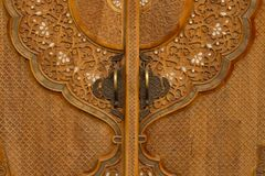 Free Traditional Ancient Door Royalty Free Stock Image - 34051646