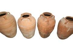 Traditional Ancient Greek amphora Stock Photo