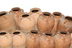 Traditional Ancient Greek amphora Royalty Free Stock Photos