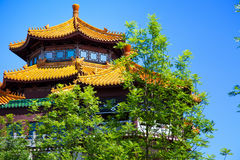 Traditional Ancient Historical Chinese House Royalty Free Stock Images