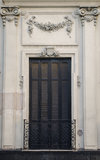 Traditional And Colonial Facade Stock Images