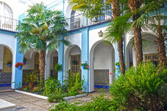Traditional Andalusian house. SPAIN. stock image