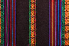 Traditional andean tapestry. From northern Argentina and Bolivia Royalty Free Stock Photo