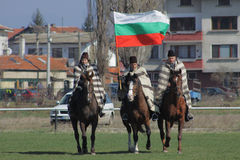 Theodore's day (Horse Easter). Traditional Annual horse ride to celebrate Theodore's day (Horse Easter) in Sofia, Bulgaria, 23.03. 2013 Stock Photo