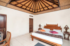 Traditional and antique bedroom Villa Stock Photo