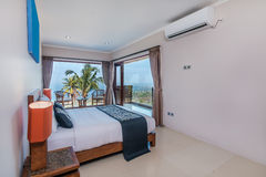 Traditional and Antique Bedroom villa in Lombok, Bali Stock Images