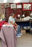 Traditional antique objects market in Sao Paulo Brazil Royalty Free Stock Photography