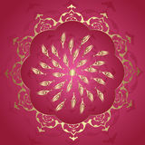 Traditional antique ottoman turkish illustration Stock Photos