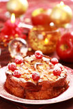 Traditional apple pie for Christmas Royalty Free Stock Image