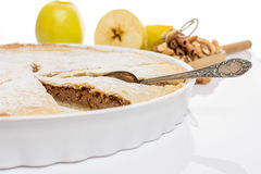 Traditional apple pie Royalty Free Stock Photo