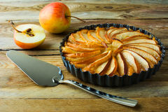 Traditional apple pie Stock Image