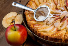 Traditional apple pie Royalty Free Stock Photos