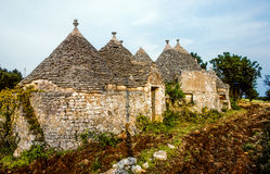 Traditional Apulian Trulli Stock Image