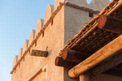 Traditional Arab architecture, Abu Dhabi, UAE Stock Photos