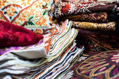 Traditional Arab rugs Royalty Free Stock Photography